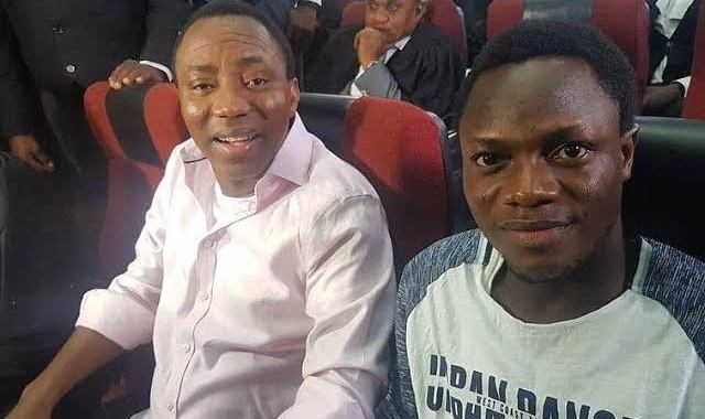 Bakare, Sowore's Co-Accused releases YouTube video from hiding