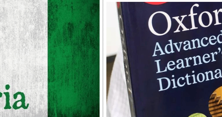 (Full List): Nigerian English Words Listed In Oxford English Dictionary