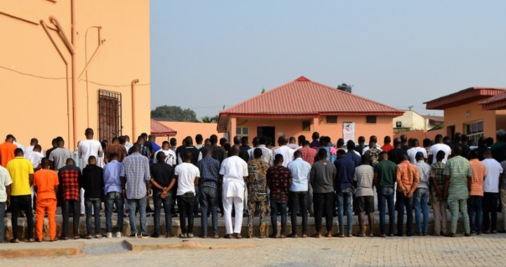 EFCC Arrests 89 Yahoo Boys in Ibadan Night club