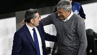 Valverde and Setien