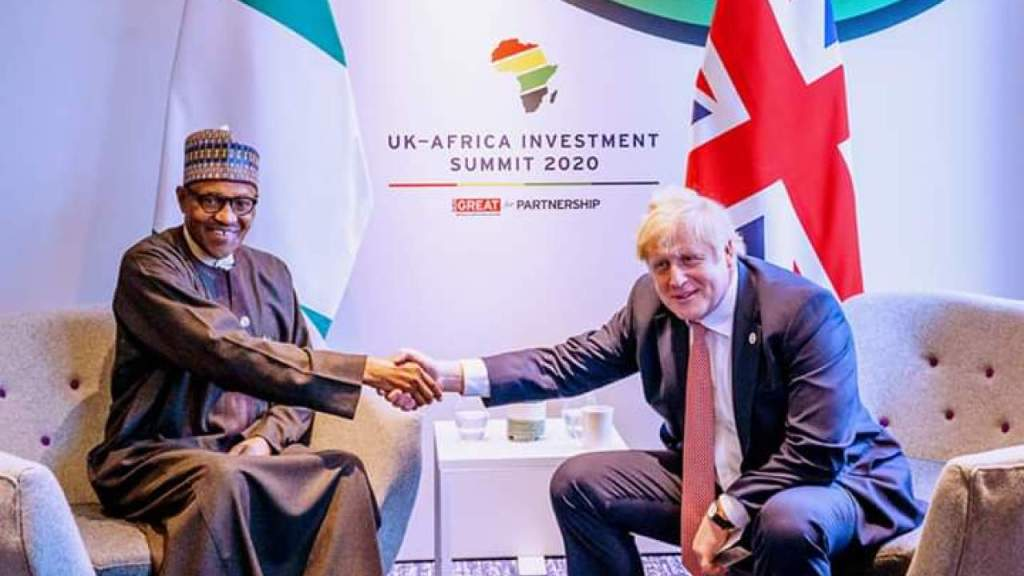 Buhari returns from UK-Africa summit