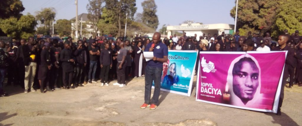 plateau youths protest