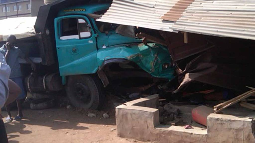 truck crushes girl to death in Ondo state