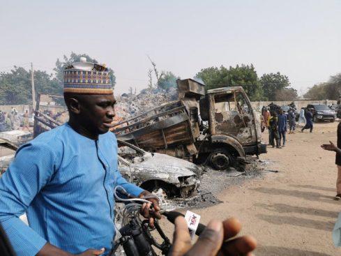 Auno community in Borno