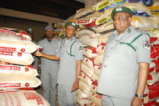 Customs vows to Shutdown Supermarkets selling foreign rice