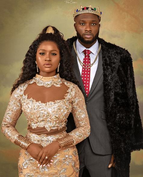 Anita Brows marries former Mr. Nigeria in glamorous wedding affair