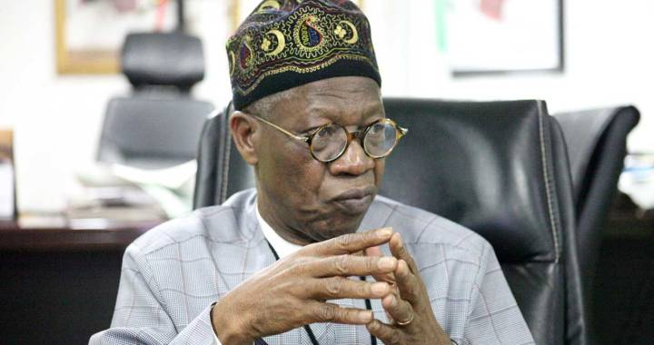 Why we can't release COVID-19 Corpses for Burial - Lai Mohammed reveals
