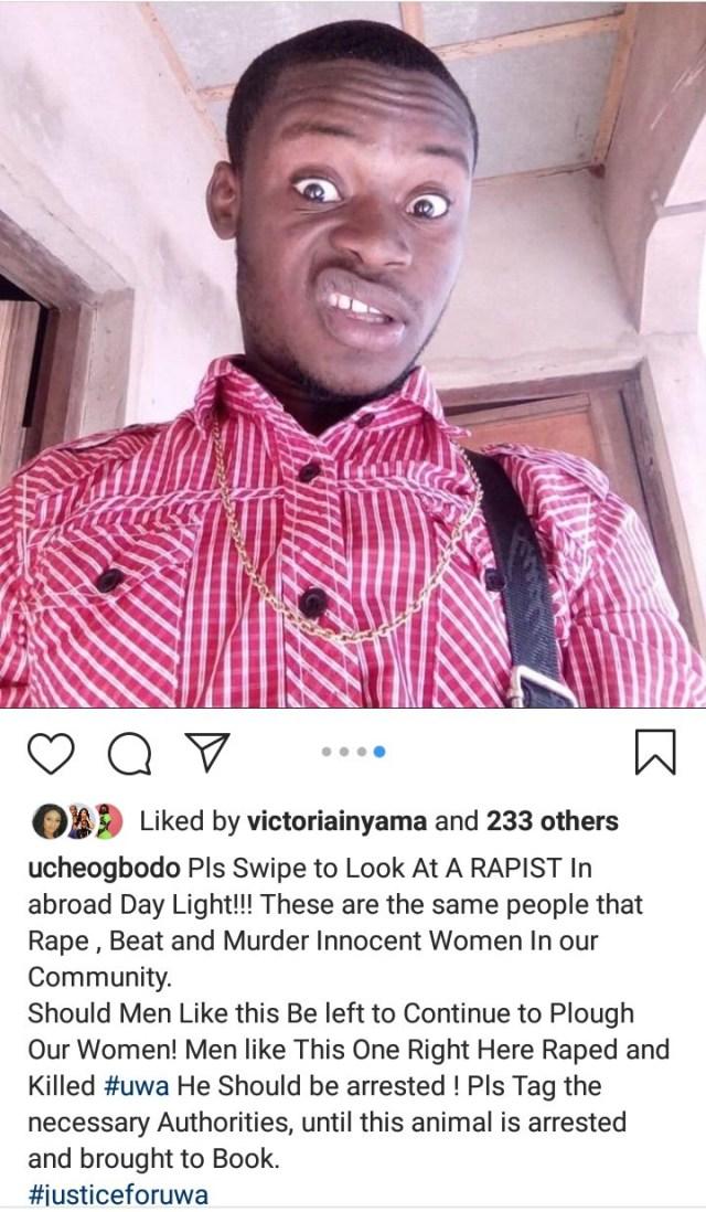 Outrage as Man declares himself Unrepentant Rapist