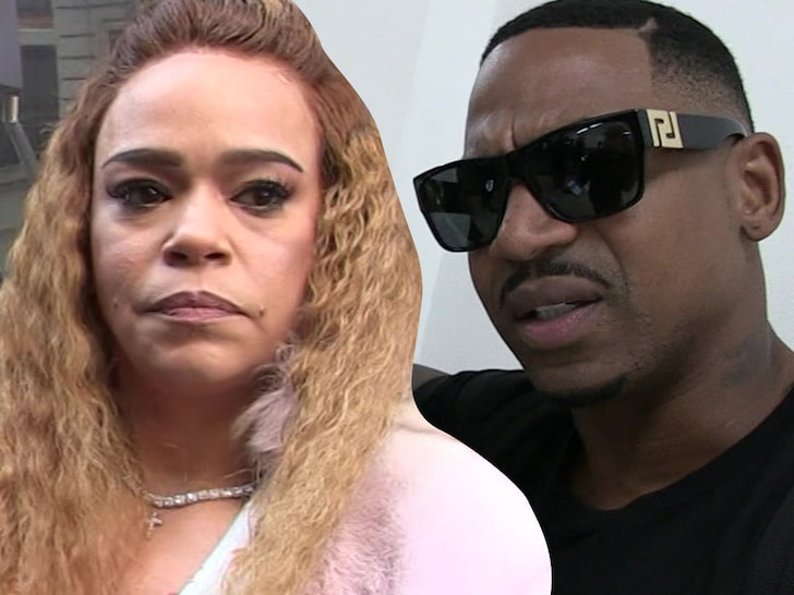 Faith Evans Nabbed After Alleged Domestic Abuse Against Third Husband Stevie J