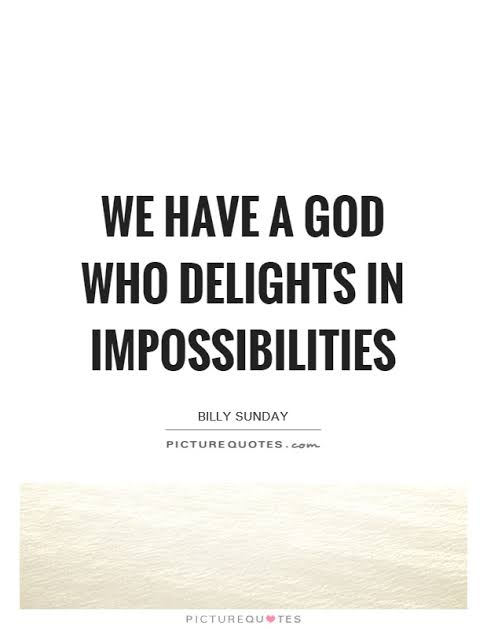 Daily Devotion: God of impossibilities