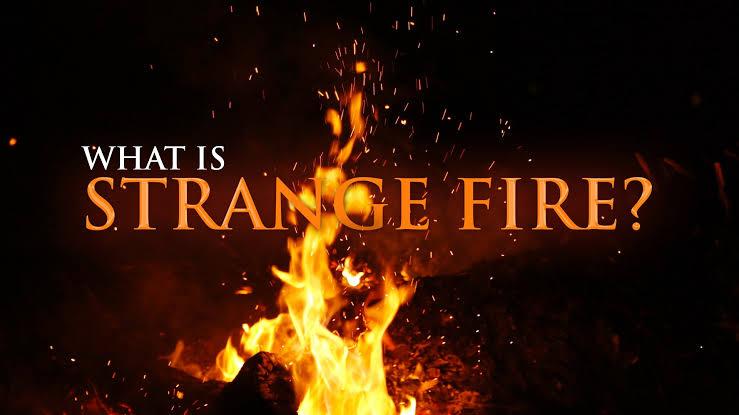 Daily Devotion: Beware Of Strange Fire!