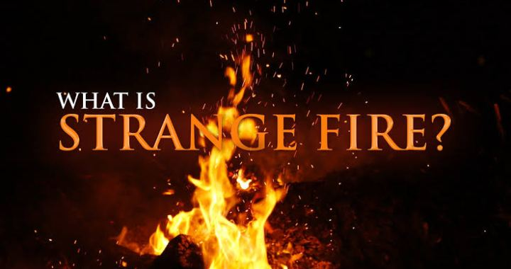 Daily Devotion: Beware Of Strange Fire!