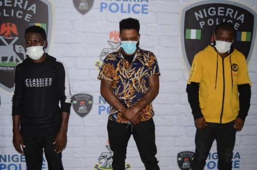 INTERPOL collaborates with Nigeria Police to arrest 3 suspected internet fraudsters