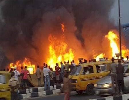 Illicit oil storage causes fire outbreak at Oregun – LASEMA boss