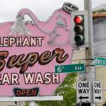 Seattle S Elephant Car Wash To Shutter Pink Sign To Be Saved Heraldnet Com