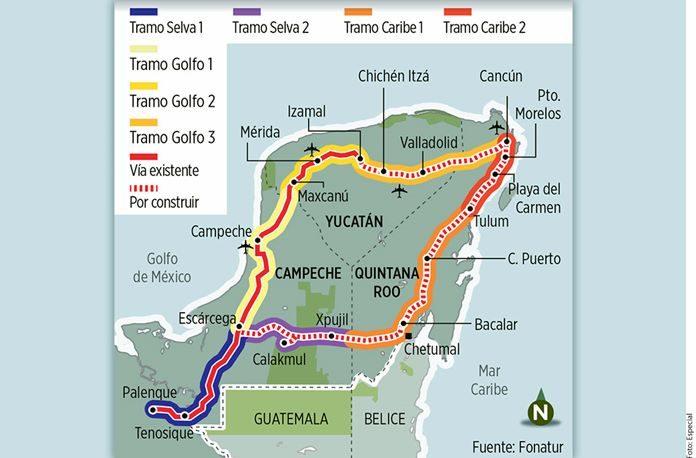 Resultado de imagen para Construcción del Tren Maya dividida entre ocho empresas