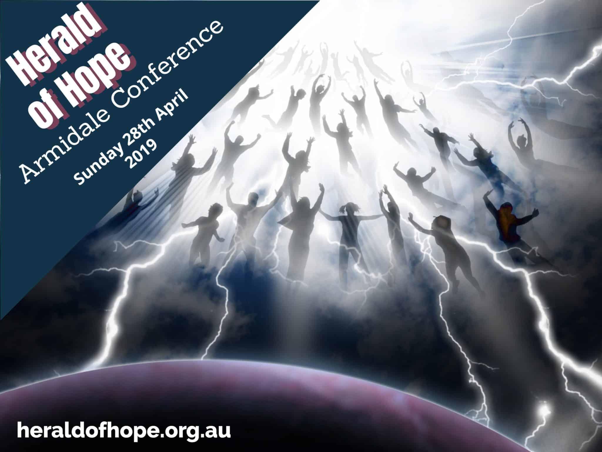 Armidale Rapture Conference 2019