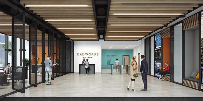 HeraldScotland: The speculative office development
