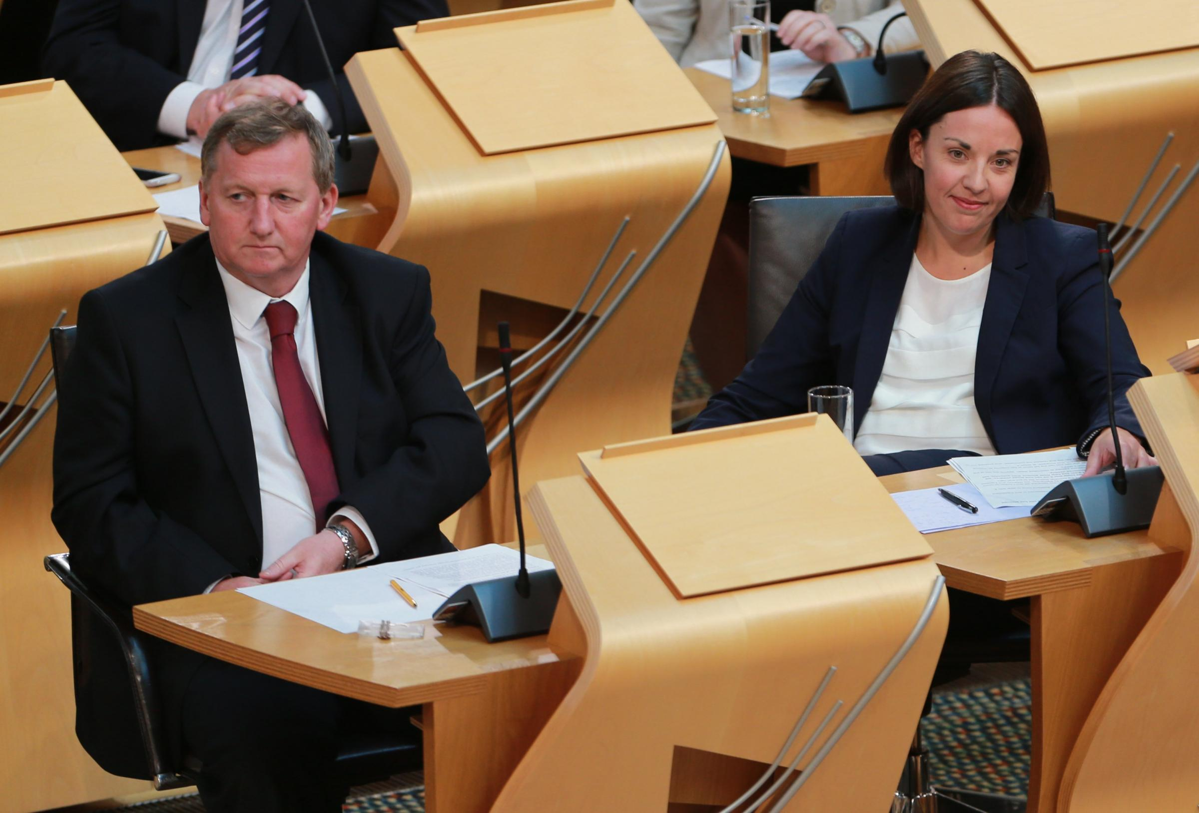 Alex Rowley and Kezia Dugdale