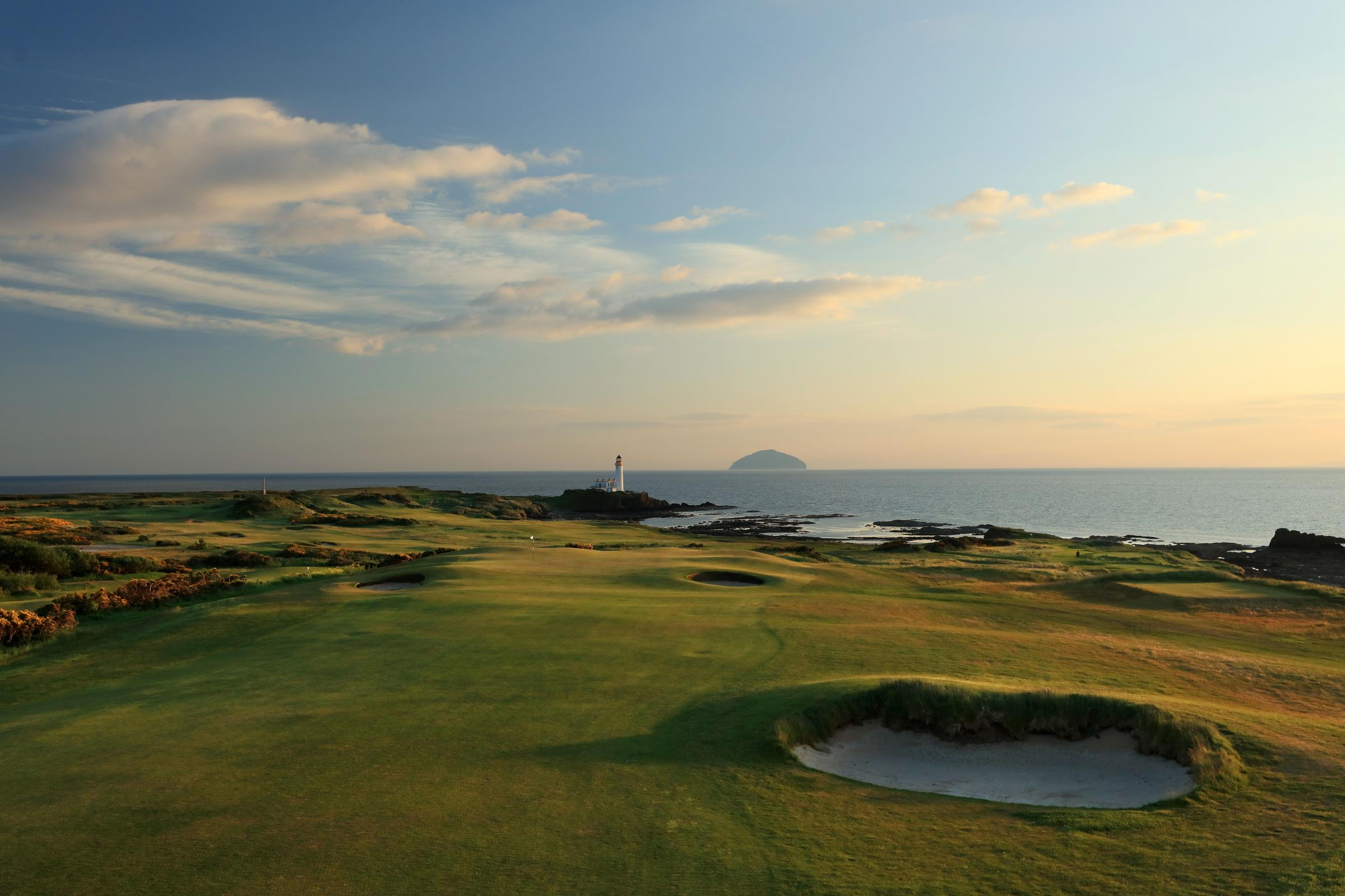 HeraldScotland: King Robert the Bruce, 8th Hole  Interview: David Cannon, the world's No.1 golf photographer 7908794