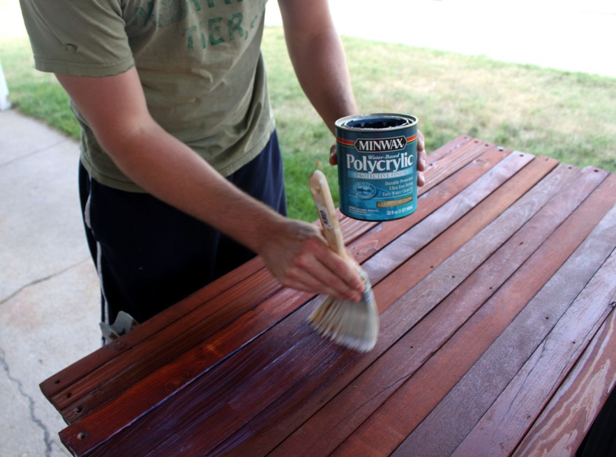 polycrylic vs polyurethane on countertops