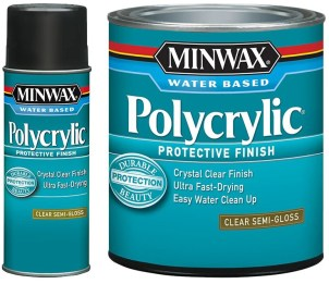 polycrylic vs polyurethane over paint