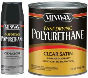 polyacrylic or polyurethane over stain
