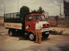 Camion de reparto de la antigua Bodega Heras Cordon.
