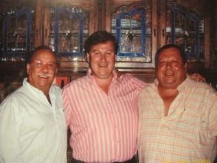 Con D. Fermín Palomar y D. Elías Romero