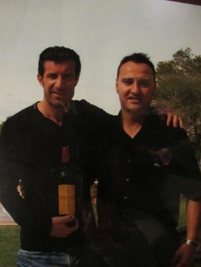 Nuestro amigo Luis Figo