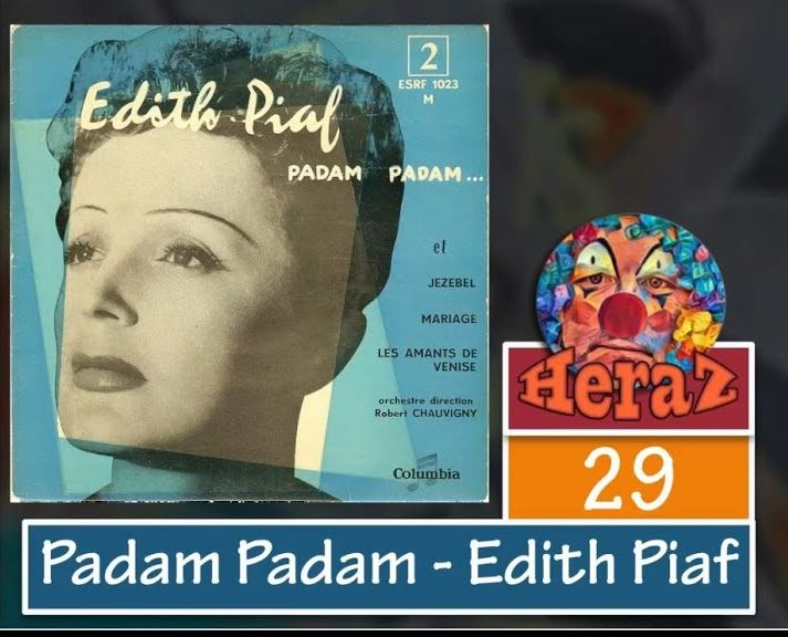 Padam Padam – Edith Piaf (bass)