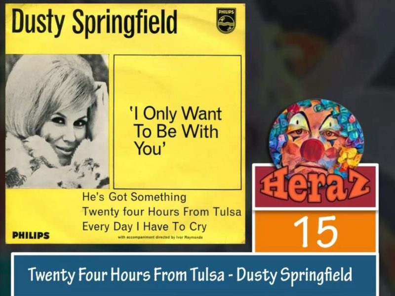 Twenty Four Hours From Tulsa – Dusty Springfield (bass)