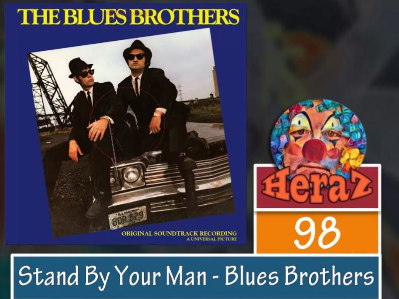 Stand By Your Man – The Blues Brothers (bass)