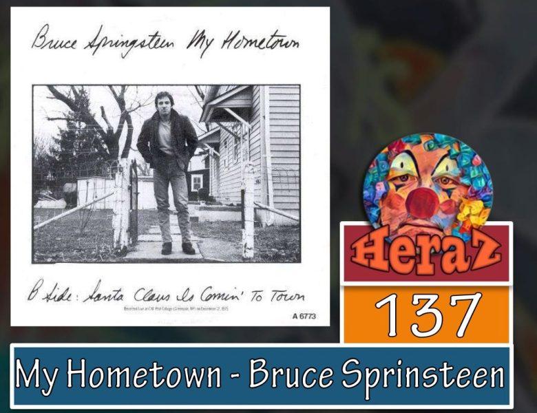 My Hometown – Bruce Sprinsteen (bass)