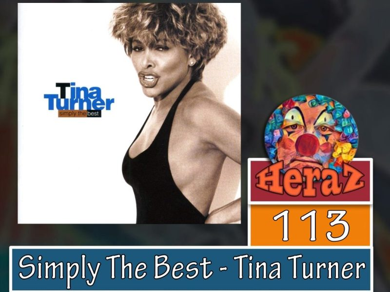 Simply The Best – Tina Turner (bass)