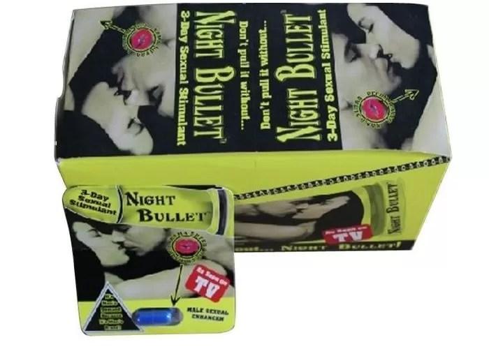 Night Bullet Male Enhancement Pills