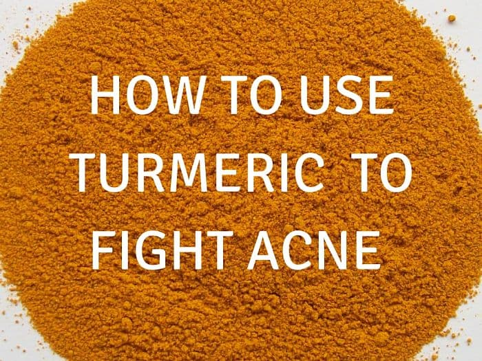 Turmeric Acne Remedy