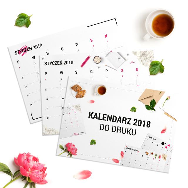 Kalendarz do druku 2018