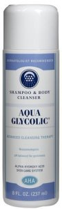 Aqua Glycolic Shampoo and Body Cleanser