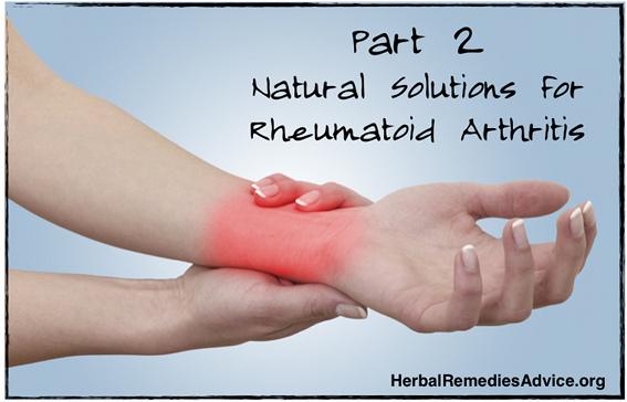 Natural Rheumatoid Arthritis Treatment