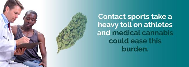 marijuana contact sports