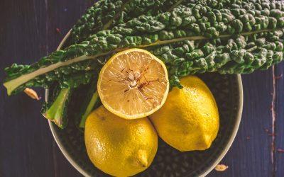 Jus vert nettoyant au citron