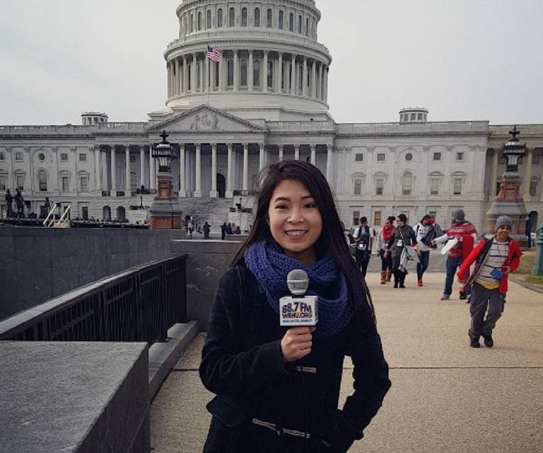 WRHU Students Cover the Presidential Inauguration
