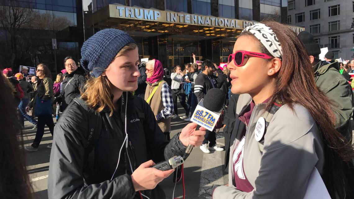 Documenting History at the 2018 Women's March