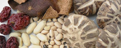 Soupe aux champignons parfumés et aux jujubiers