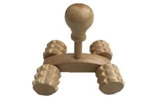 Masseur en bois pour le dos, la nuque, les jambes