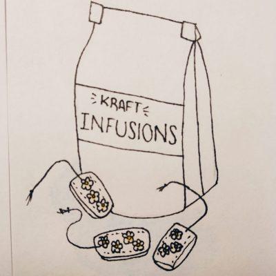 10 Bossetes d'infusions en kraft