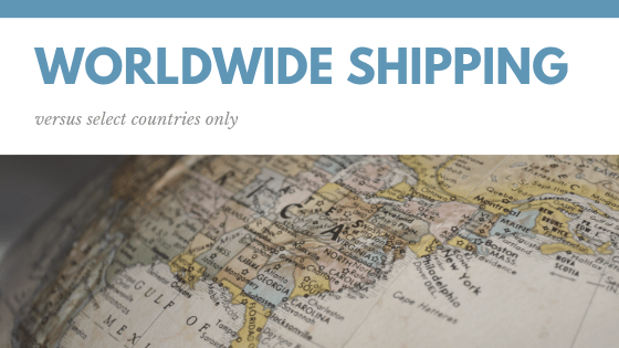 worldwide shipping or ships to your country