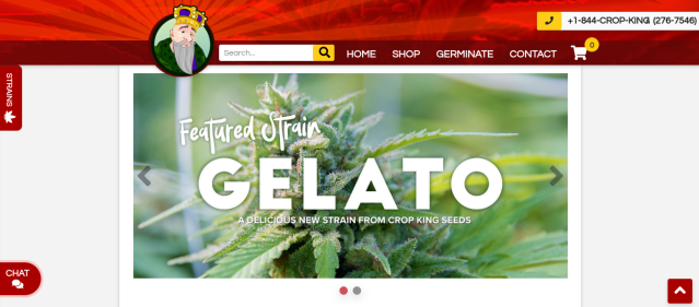 Crop King new home page