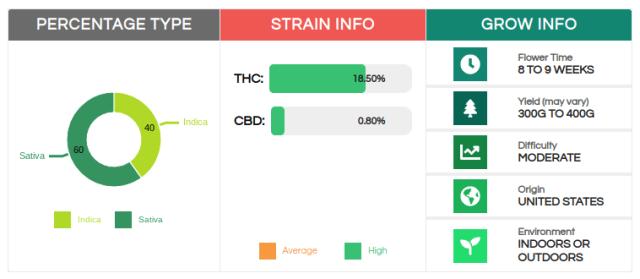 strain information Sour Diesel